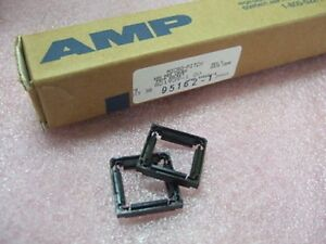 Amp Tyco 821939 1 Micro Pitch 100 Pos Cover Ic Pqfp Socket 38pcs Box