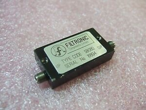 Filtronic Sb080 Microwave Rf Filter