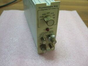 Gould Brush 13 4615 40 Thermocouple Amplifier Amp