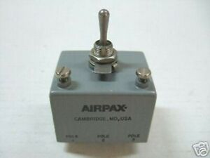 Airpax Magnetic Circuit Breaker 3pole M39019 06 216 New