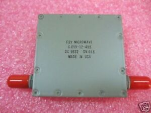 Fsy Microwave C813 5 29 5ess Band Pass Filter New