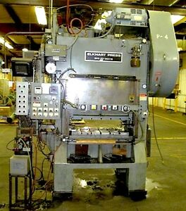 L j Elkhart Press Model Ep2 45 36 18 High Speed Straight Side Punch Press