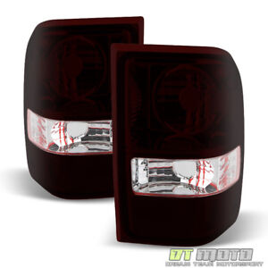 2001 2011 Ford Ranger Red Smoke Tail Lights Brake Lamps Left right Aftermarket