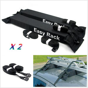 Universal Car Roof Top Carrier Rack Luggage Soft Cargo Travel Touring Easy Rack