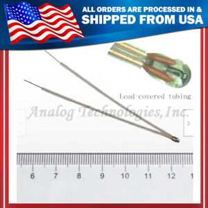 10x10k High Stability Ntc Thermistor 1 25mm With Lead covered Tubings