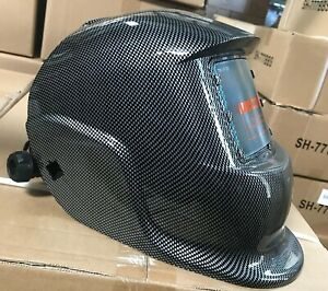 Dmn New Auto Darkening Welding Helmet Hood Certified Mask Cheater lens ready