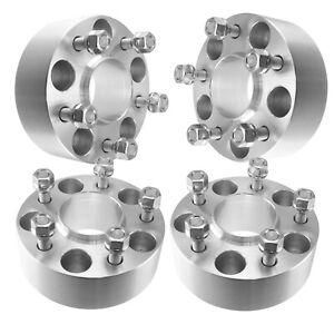 4 2 Inch 5x5 5x127 Wheel Spacers 50mm Adapters Hubcentric