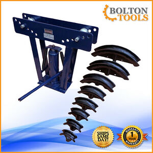 Bolton Tools 10 Ton Hydraulic Pipe Bender Hb 10