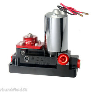 Qft 175 Gph Racing Bypass Billet Electric Fuel Pump 8 An Fuel Inlet And Outlet
