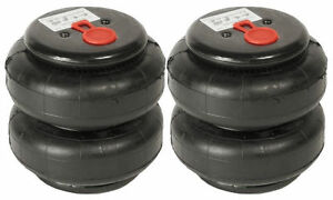 Air Ride Suspension Pair Standard 2500lb Air Bags 1 2 Npt Single Port Heavy Duty