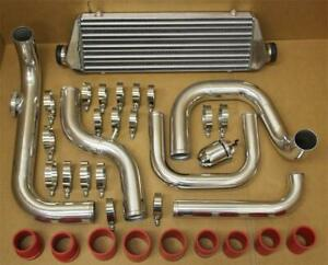 Honda Civic 92 95 Eg D15 D16 Aluminum Blot On Turbo Intercooler Piping Kit Bov