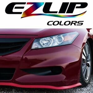 The Original Ez Lip Colors Red Universal Body Kit Air Spoiler Ezlip Easy