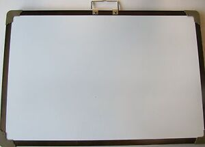 Magnetic Dry erase Board Chalkboard Double Sided Magnet Drawing Art 20x28 New