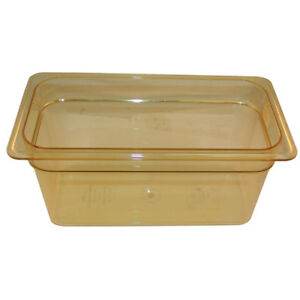 Cambro Hot Pan 1 3 X 6in 150amber 36hp