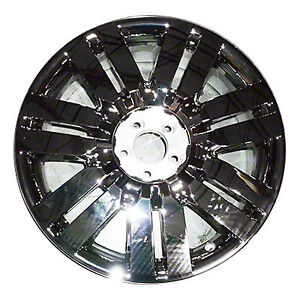 03827 Replacement New Wheel 20x7 5 Fits 2010 Lincoln Mkx Cladded Chrome