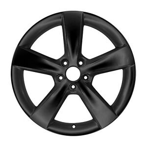 02479 Oem Reconditioned Aluminum Wheel 18x7 5 Fits 2013 2016 Dart Gloss Black