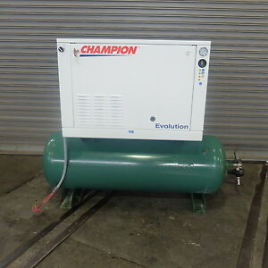 5 Hp Champion Evolution Horizontal Tank Air Compressor
