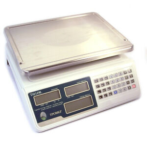 Taylor Digital Pos Price Computing Scale Tpc60lt