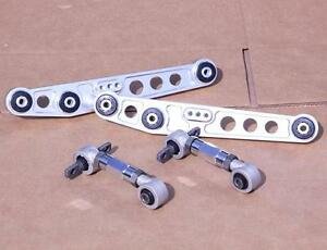 Gen 2 Polished 0 8 Rear Lower Control Arm Camber Kit Crx 88 91 Integra 90 93