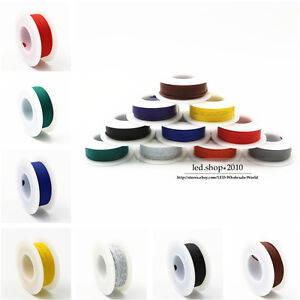 Flexible Stranded Of Ul 1007 10 Colors 16 18 20 22 24 26 28 Awg Wire Cable