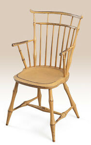Birdcage Windsor Armchair Kitchen Or Dining Chair American Made Furniture