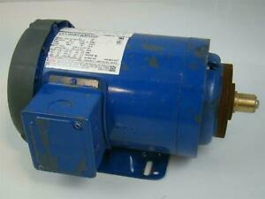 Marathon Electric Motor Ph3 3515rpm 230 460v 1 5hp Nvn 56t34f5543d P