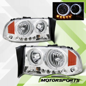 led Halo 1997 2004 Dodge Dakota 1998 2003 Durango Led Chrome Headlights P