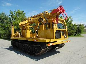 1979 Powers Pm201 12000lb Digger Derrick Crane On Go tract Gt800 Track Machine