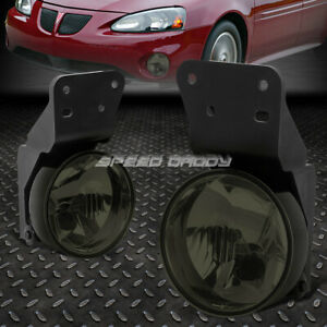 For 99 05 Pontiac Grand Am Smoked Lens Bumper Driving Fog Light Replacement Lamp