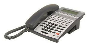 Nec 34b Aspire Voip Phone 0890065 0890073 Ip1na 24tixh Tel Bk Good Lcd Warranty