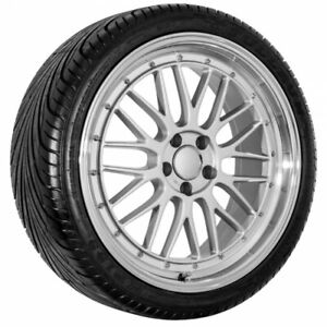 20 Silver Mercedes Replica Rims And Tire Package
