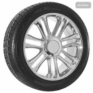 22x9 Chrome Chevy Truck Silverado Tahoe Wheels Rims And Tires