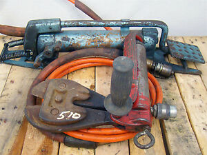Hxp Hydraulic Bolt Cutter With Foot Pump