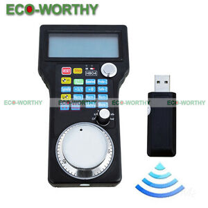 Wireless Electronic Handwheel Mpg Pendant For Usb Cnc 3 4 Axis Engraving Us