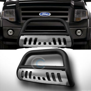 Fit 04 18 Ford F150 03 17 Expedition Matte Blk Skid Bull Bar Bumper Grille Guard