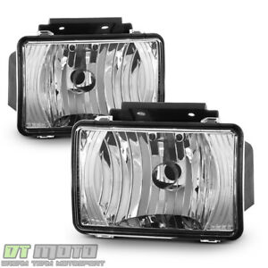 2004 2012 Chevy Colorado Gmc Canyon Driving Fog Lights Bumper Lamps Left Right