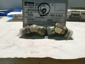 Parker Hydraulic Fittings 3507 8 8 6 In Lot sku 112 a36