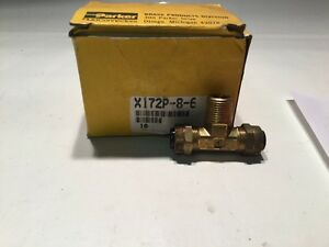 Parker Hydraulic Fitting X172p 8 6 10 In Lot sku 126 a45