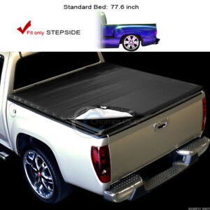 Snap on Tonneau Cover 99 07 Chevy Silverado gmc Sierra Stepside 6 5 Ft Short Bed