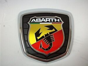 2012 16 Fiat 500 Abarth Tailgate Liftgate Nameplate Emblem Badge 68104864aa Oem
