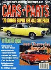 Cars Parts March 2002 1958 Impala 1970 Super Bee 1951 Olds 98 1935 Ford Coupe