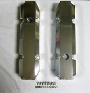 Big Block Mopar Chrysler Dodge Fabricated Aluminum Valve Covers 383 400 440
