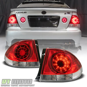 For 2001 2005 Lexus Is300 Lumileds Led Tail Lights 2pcs Lamps 02 03 04