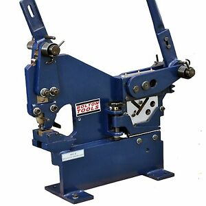Bolton Tools Manual Ironworker With Sheet Metal Punch Pbs 9