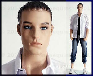 Full Body Mannequins Male Manikin Display European Man Manequin Young Mike