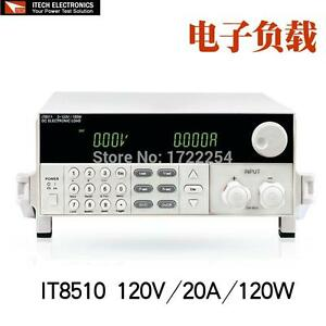 Itech It8510 Programmable Dc Electronic Load 120v 20a 120w Load High accuracy