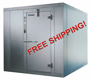 6x8x8 Nominal Size Walk In Freezer With Condensing Unit Coil New Master bilt
