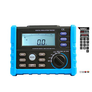 Aidetek Digital Analogue Megger Pointer Insulation Resistance Tester Aim02