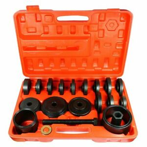 Master 23pc Jumbo Bearing Race Seal Driver Wheel Axle Disk Tool Set Bushing
