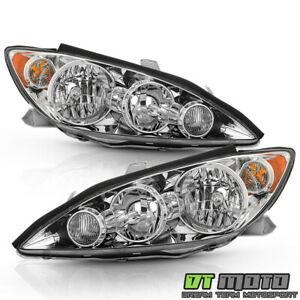 For 2005 2006 Toyota Camry Le Xle Se Headlights Headlamps Replacement Left Right